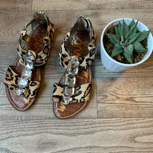 Sam Edelman Cheetah Glam Sandal